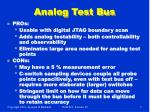 analog test bus
