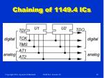 chaining of 1149 4 ics