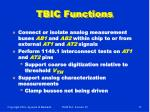 tbic functions