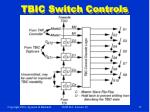 tbic switch controls
