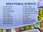 behavioral science28