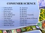 consumer science45