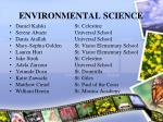 environmental science53