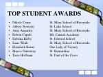 top student awards