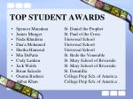 top student awards101