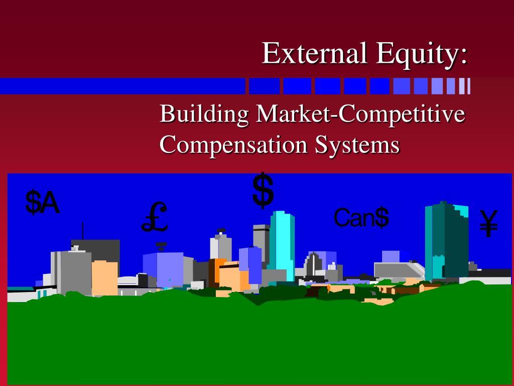 building market competitive compensation system