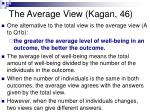 the average view kagan 46
