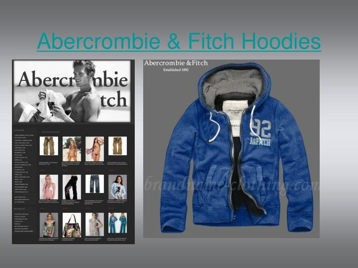 abercrombie fitch hoodies n.