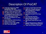 description of procat
