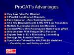 procat s advantages