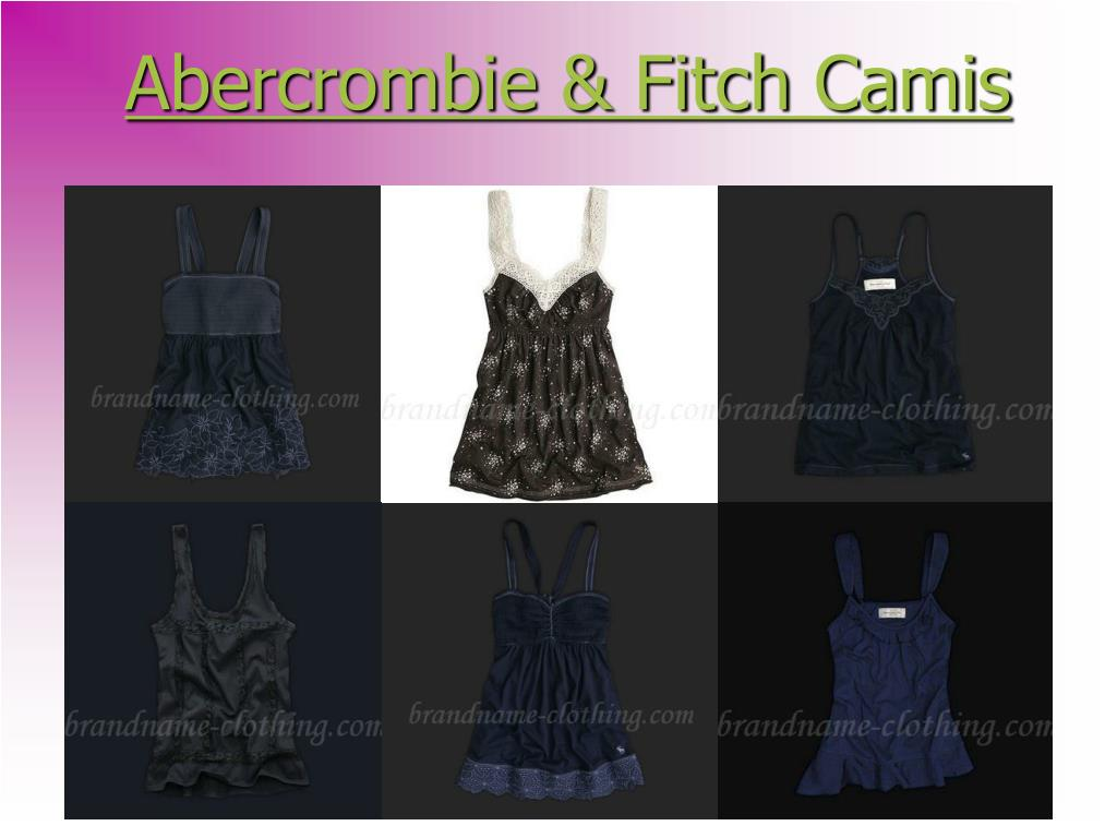 abercrombie fitch camis l.
