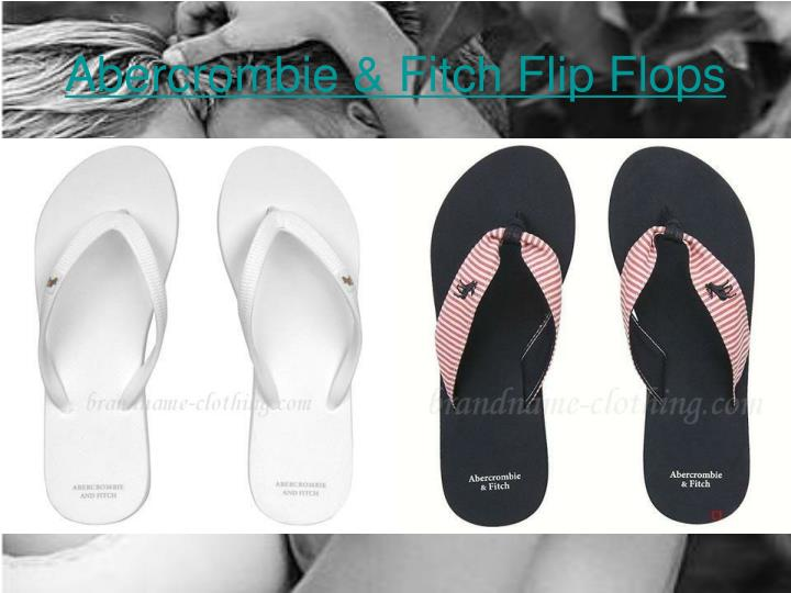 Abercrombie fitch flip flops2