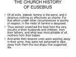 the church history of eusebius13