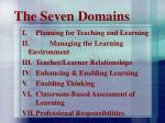 the seven domains