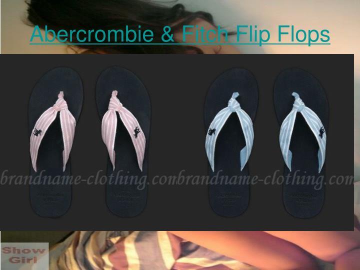 Abercrombie fitch flip flops2