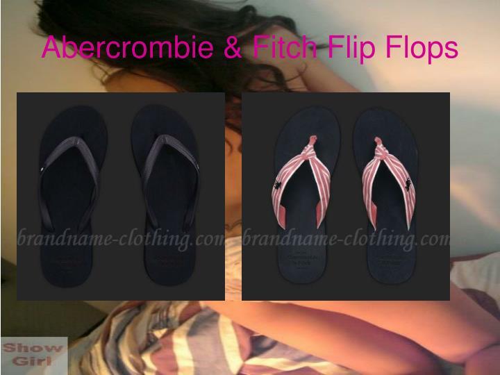 Abercrombie fitch flip flops3