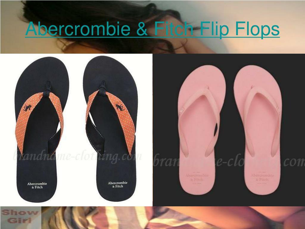 Abercrombie & Fitch Flip Flops