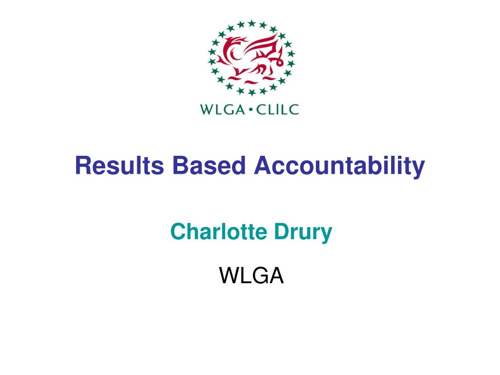 results based accountability l.