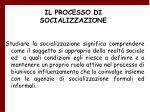 il processo di socializzazione3