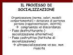 il processo di socializzazione32