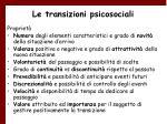 le transizioni psicosociali46