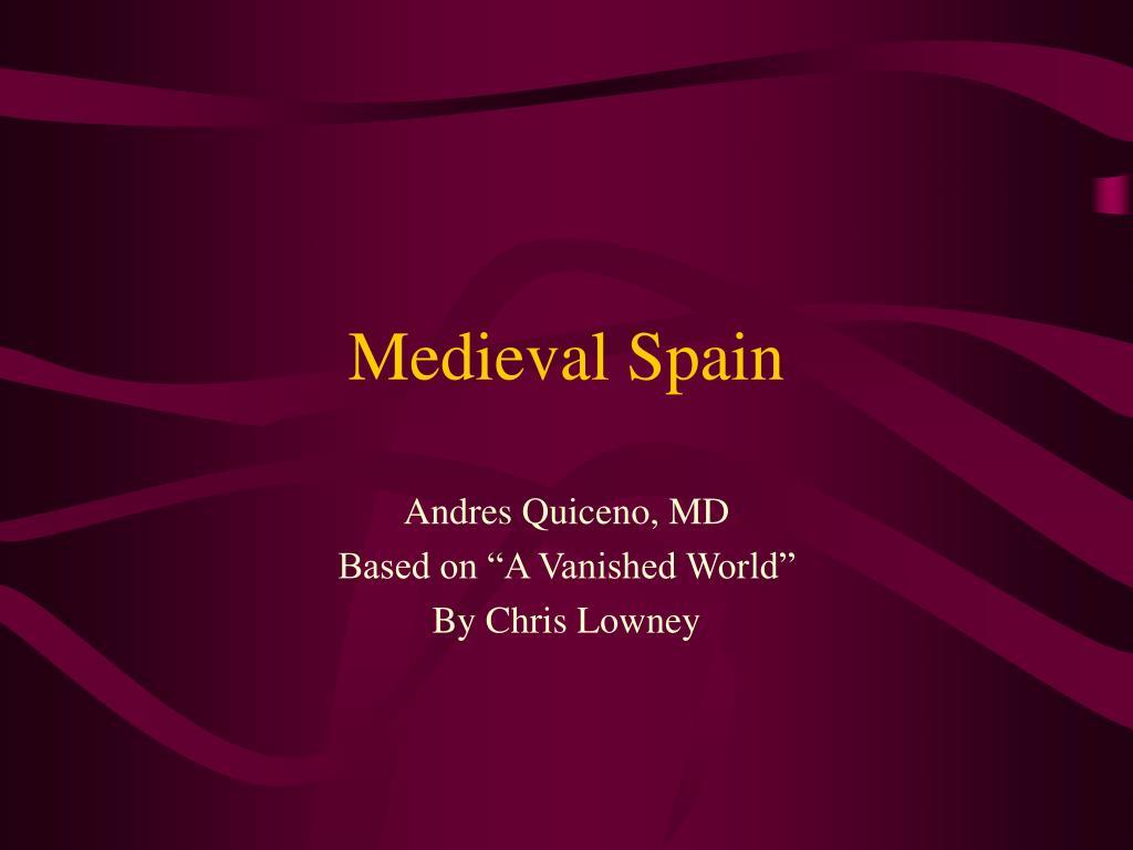 medieval spain l.