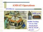 amsat operations