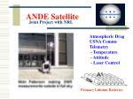 ande satellite