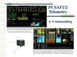 pcsat1 2 telemetry
