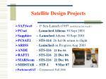 satellite design projects