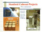 stanford cubesat projects