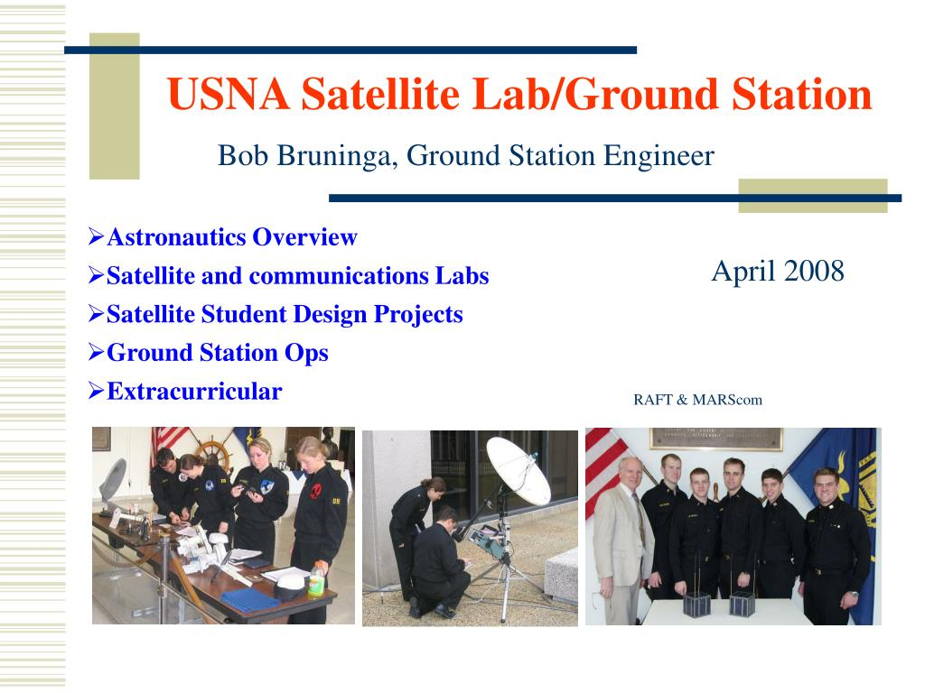 usna satellite lab ground station l.