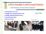 usna satellite lab ground station