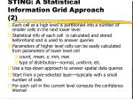 sting a statistical information grid approach 2