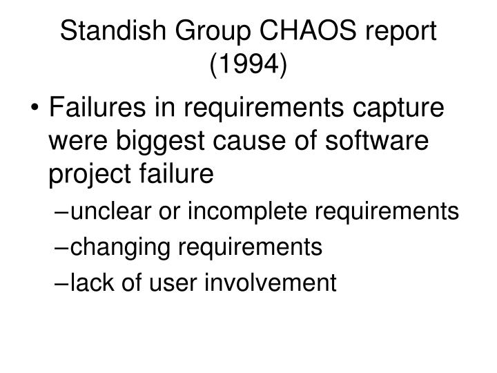 The standish chaos report 2019
