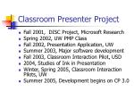 classroom presenter project