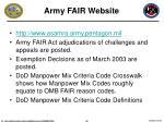 army fair website