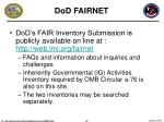 dod fairnet