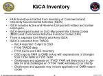 igca inventory