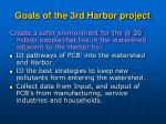goals of the 3rd harbor project