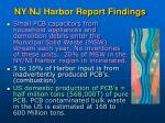 ny nj harbor report findings33