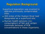 regulation background20