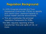 regulation background21
