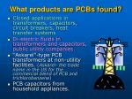 what products are pcbs found