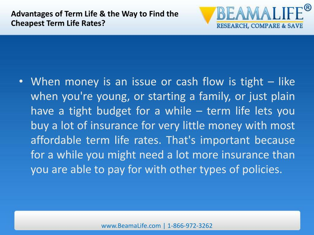 Advantages of Term Life & the Way to Find the