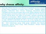 why choose affinity