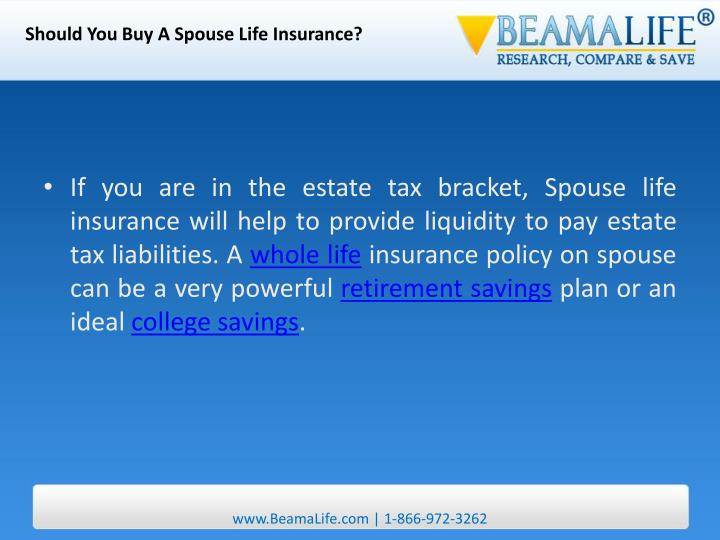 Should You Buy A Spouse Life Insurance?