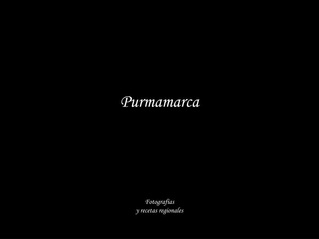 purmamarca fotograf as y recetas regionales l.