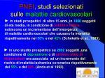 pnei studi selezionati sulle malattie cardiovascolari