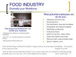 food industry diversify your workforce